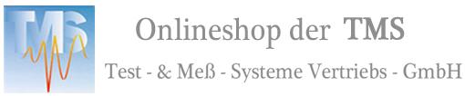 Onlineshop der TMS Test- & Meß-Systeme Vertriebs GmbH-Logo